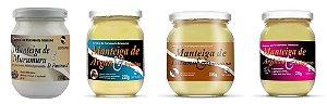 COMBO Manteiga de Murumuru e D-Pantenol 220g + Manteiga de Argan e Arginina 220g + Manteiga de Tutano e Queratina 220g + Manteiga de Arginina e Colágeno 220g