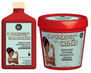 COMBO O PODEROSO CREMÃO 250g + O PODEROSO SHAMPOO(ZÃO) 250ML