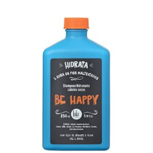 Shampoo Hidratante Cabelos Secos Be Happy - Lola Cosmetics - 250ml