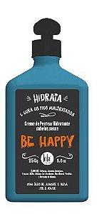 Creme de Pentear Hidratante Cabelos Secos Be Happy - Lola Cosmetics - 250g