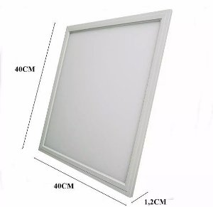 Plafon Led Embutir 36w 40x40 Branco Neutro, Frio e Quente 110-220v