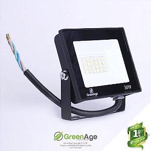 Refletor Led SMD 30w Verde IP66 Bivolt