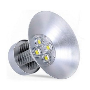 Luminária Led Industrial 200w Branco Frio 110-220v