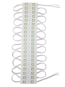 Módulos Led 5050 Ip65 40-Led 12V Branco frio