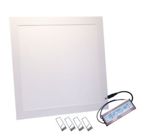 Plafon Led Embutir Slim 40x40  42W Branco Frio 110-220V