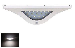 Luminária de Parede Solar Com Sensor de Presença