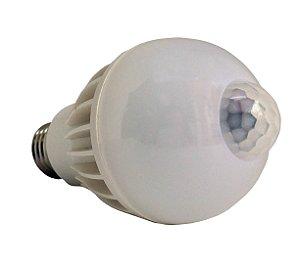 Lâmpada Led com Sensor de Presença 5 e 7W (E27)