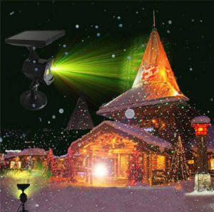 Espeto Projetor a Laser Solar de Natal
