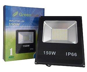 Refletor Led SMD 150w Branco Frio e Branco Quente IP66 Bivolt