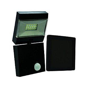 Luminária Solar Led Com Sensor De Presença E Tempo Ajustável