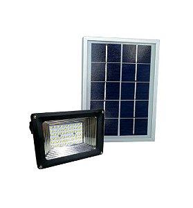 Refletor Holofote Luminária Solar 60 Leds 40w