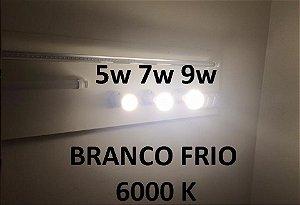 Lâmpada Led Bulbo E27 Branco Frio e Quente 5 à 12W 110-220V
