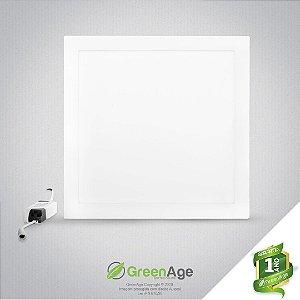 Plafon Led Embutir Quadrado 25w Branco Frio e Neutro 110-220v