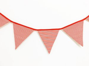 Bandeirola de tecido - festa Piratas