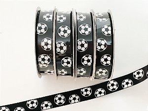Fita decorada bola de futebol - 9 metros