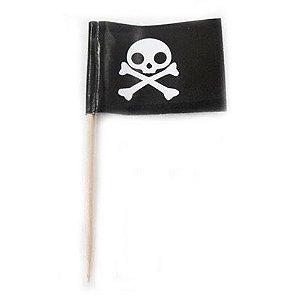 Pick dupla face para doces - Piratas (24 unidades)