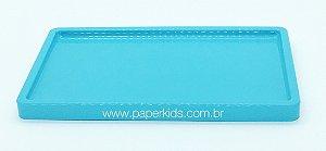 Bandeja para doces - Azul Céu (30x18x2cm)
