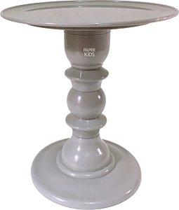 Boleira desmontável - Cinza (24 cm h x 22 cm)