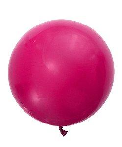 """Balão 30"""" gigante 76 cm - Cereja intenso (unidade)"""