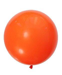 """Balão 30"""" gigante 76 cm - Laranja Mandarim (unidade)"""
