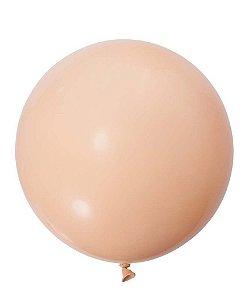"""Balão 30"""" gigante 76 cm - Nude/Blush (unidade)"""