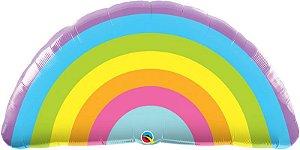 """Balão gigante Qualatex 36"""" - Arco-Íris 91 cm (unidade)"""