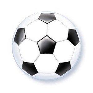 """Balão Bubble 56 cm - Bola de Futebol 22"""" (unidade)"""