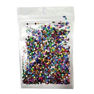 Mini confete metálico - Mix cores (15g)