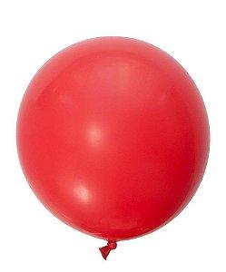 """Balão gigante 36"""" - Vermelho (unidade)"""