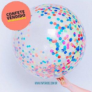 """Balão gigante 36"""" - Transparente 90cm (unidade)"""