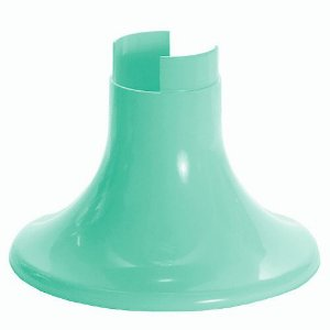 Pé para Vaso Artificial - Verde Menta (12.5 cm h) - 1 unidade