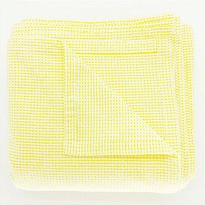 Toalha de mesa Quadriculada - Amarela (1,5 x 3 metros)
