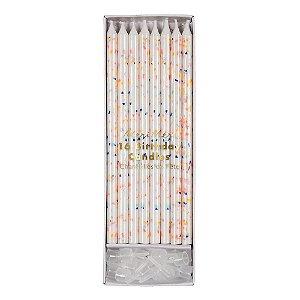 Velas multicoloridas Neon - Meri Meri (16 un)