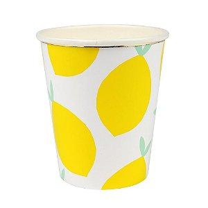 Copos de papel Limão Siciliano - Meri Meri (8 un)