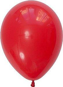 """Balão 11"""" látex - Vermelho (unidade)"""