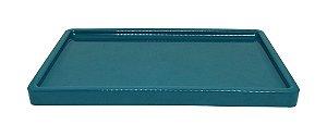Bandeja para doces - Verde Esmeralda (30x18x2cm)