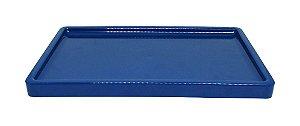 Bandeja para doces - Azul petróleo (30x18x2cm)