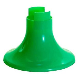 Pé para Vaso Artificial - Verde (12.5 cm h) - 1 unidade