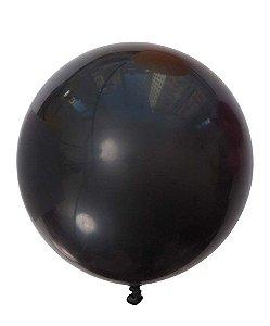 """Balão gigante 36"""" - Preto (unidade)"""