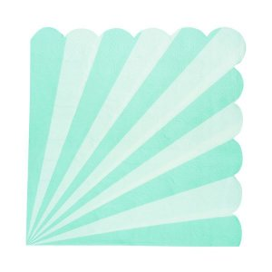 Guardanapo de papel Verde Menta - 33cm (20 unidades)