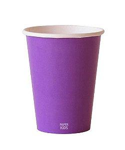 Copo de papel - Roxo (10 unidades)