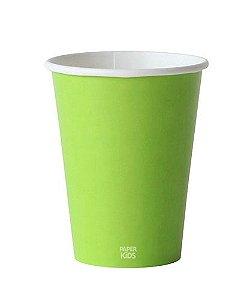 Copo de papel - Verde claro (10 unidades)