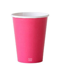 Copo de papel - Pink (10 unidades)