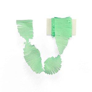 Cauda / Franja para balão - Verde Menta (5 cm x 3 metros)
