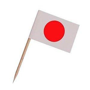 Pick dupla face - Bandeira Japão (100 unidades)