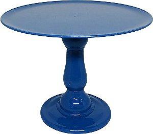 Boleira 23.5 cm altura - Azul Petróleo (escolha o tampo)