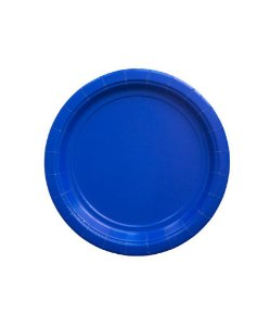 Pratinho de papel - Azul 18 cm (10 un)