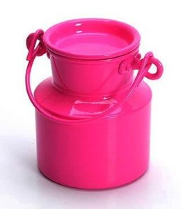 Leiteira de alumínio - Pink