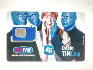 Chip Tim Triplo Corte 4G Tamanho Normal, Micro e Nano