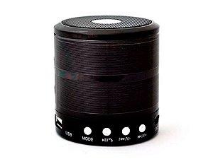 Mini Caixa de Som Portátil Altomex WS-887 Rádio FM Bluetooth Entrada USB e Micro SD